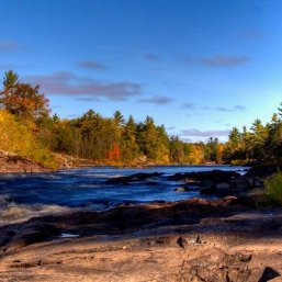 Banks of the Menominee River