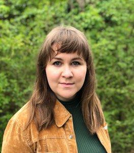 Sustainability Coordinator Cara Pratt