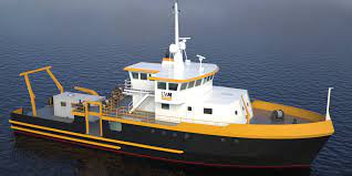 Rendering of the new Maggi Sue research vessel